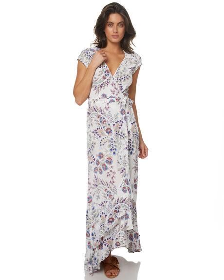 WHITE WOMENS CLOTHING TIGERLILY DRESSES - T372431WHT