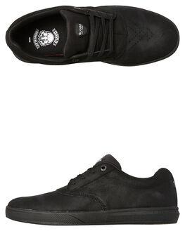 BLACK OILED MENS FOOTWEAR GLOBE SKATE SHOES - GBEAGLE-20315