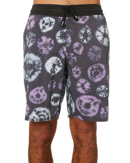 BLACK MENS CLOTHING VOLCOM BOARDSHORTS - A0831902BLK