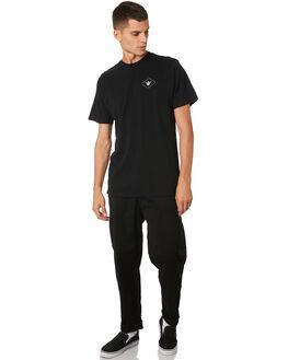 BLACK MENS CLOTHING SWELL TEES - S5193005BLACK