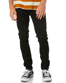 EVER BLACK MENS CLOTHING NUDIE JEANS CO JEANS - 112569EBLK
