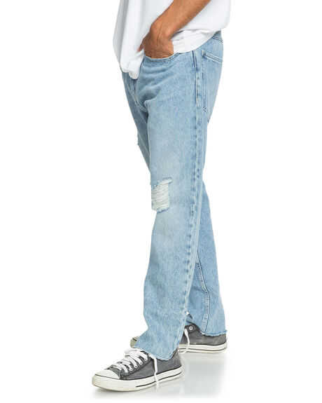 BLUE RIP MENS CLOTHING QUIKSILVER JEANS - EQYDP03423-BKJW