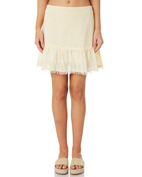 CREAM OUTLET WOMENS ALL ABOUT EVE SKIRTS - 6444037CRM