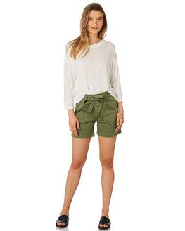 MOSS WOMENS CLOTHING RHYTHM SHORTS - APR19W-WS03-MOS