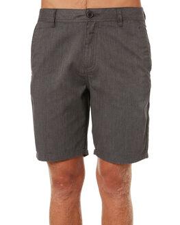 BLACK WASH MENS CLOTHING KATIN SHORTS - WSCOU00BLKW