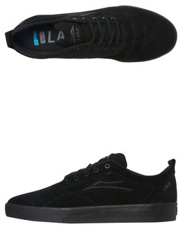 BLACK MENS FOOTWEAR LAKAI SNEAKERS - MS3190249A00BLKS
