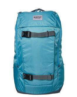STORM BLUE CRINKLE MENS ACCESSORIES BURTON BAGS + BACKPACKS - 21343100402