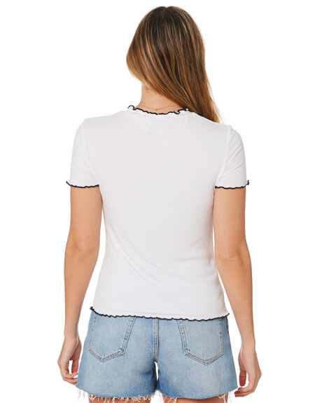 WHITE WOMENS CLOTHING ELWOOD TEES - W93315653