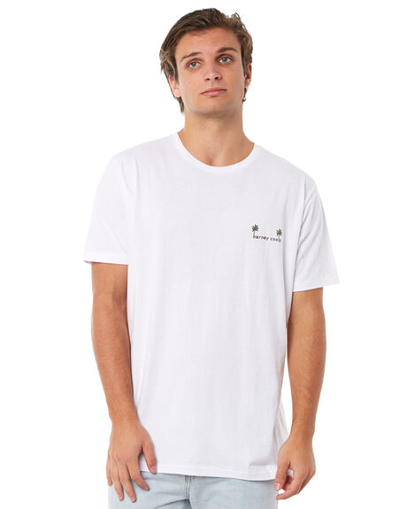 WHITE MENS CLOTHING BARNEY COOLS TEES - 135-CR1WHT