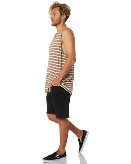PORTOBELLO MENS CLOTHING RUSTY SINGLETS - TSM0467PBO