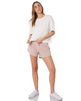 BRIGHT WHITE WOMENS CLOTHING RUSTY TEES - TTL1038BTW