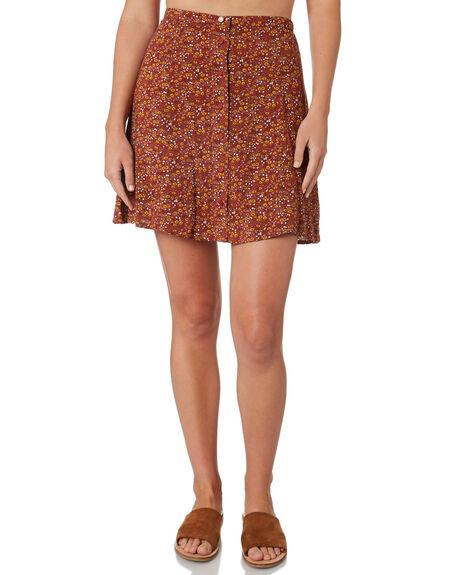 BRANDY WOMENS CLOTHING THE HIDDEN WAY SKIRTS - H8189473FLORL