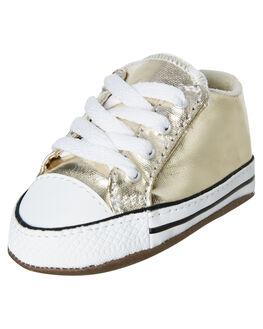 LIGHT GOLD KIDS BABY CONVERSE FOOTWEAR - 866037CLGLD