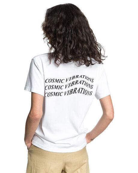 WHITE WOMENS CLOTHING QUIKSILVER TEES - EQWKT03049-WBB0