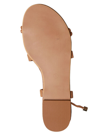 TAN SUEDE WOMENS FOOTWEAR BILLINI FASHION SANDALS - S479TANSD