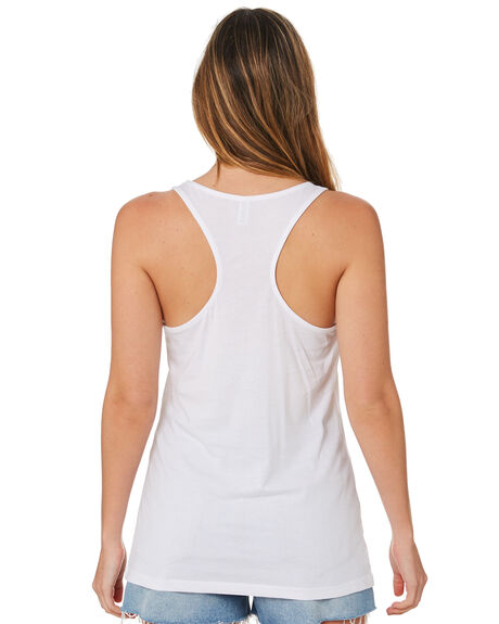 WHITE OUTLET WOMENS AS COLOUR SINGLETS - 4044WHITE