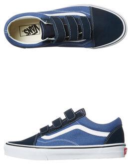 BLUE NAVY MENS FOOTWEAR VANS SNEAKERS - VN-A3D29OIWNVY