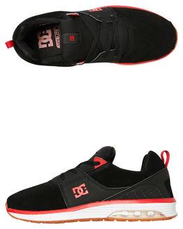 BLACK ATHLETIC RED MENS FOOTWEAR DC SHOES SNEAKERS - ADYS200039BAT
