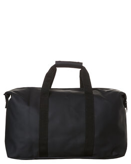 BLACK MENS ACCESSORIES RAINS BAGS - RNS1286BLK