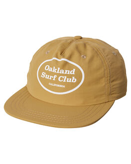 BEIGE MENS ACCESSORIES OAKLAND SURF CLUB HEADWEAR - SU18-H2-SBEI