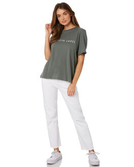 DEEP SAGE WOMENS CLOTHING THE FIFTH LABEL TEES - 40190575-7SAGE