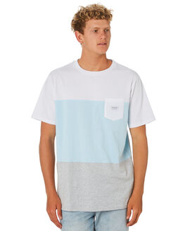 WHITE MENS CLOTHING RIP CURL TEES - CTETP21000