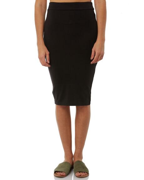 BLACK WOMENS CLOTHING BETTY BASICS SKIRTS - BB212BLK