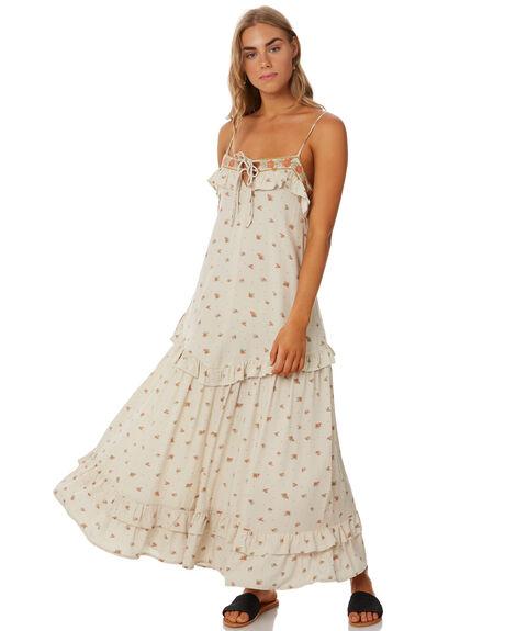 PRAIRIE FLORAL WOMENS CLOTHING THE HIDDEN WAY DRESSES - H8202442PRFLR