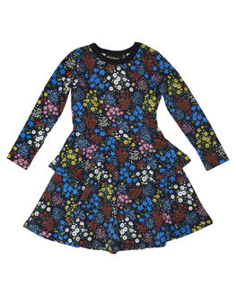 PRINT KIDS TODDLER GIRLS ROCK YOUR BABY DRESSES - TGD181-MFPRNT