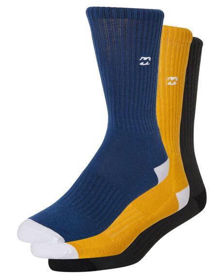 MULTI MENS CLOTHING BILLABONG SOCKS + UNDERWEAR - 9681607AMUL