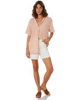 STRIPE WOMENS CLOTHING ZULU AND ZEPHYR FASHION TOPS - ZZ2178STR