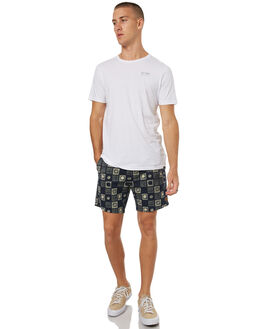 NAVY MENS CLOTHING DEUS EX MACHINA BOARDSHORTS - DMS72953NVY
