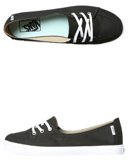 BLACK WOMENS FOOTWEAR VANS SNEAKERS - VNA38IDBLKBLK