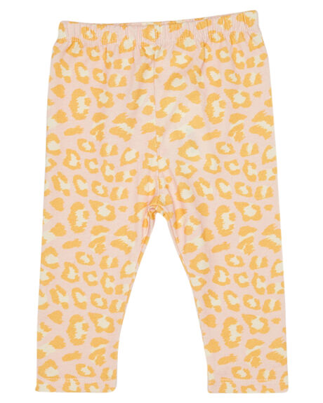 LEOPARD PINK KIDS BABY PUMPKIN PATCH CLOTHING - 20B7010LLEOPK
