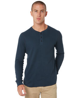 DEEP BLUE MENS CLOTHING OUTERKNOWN TEES - 1280033DPB