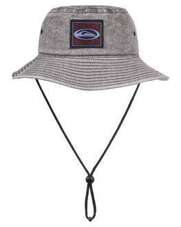 BLACK MENS ACCESSORIES QUIKSILVER HEADWEAR - AQYHA04326-KVJ0