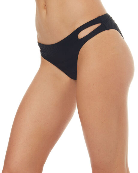 ANTHRACITE WOMENS SWIMWEAR ROXY BIKINI BOTTOMS - ERJX403501KVJ0