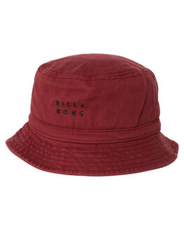 BURGUNDY MENS ACCESSORIES BILLABONG HEADWEAR - 9695340BURG