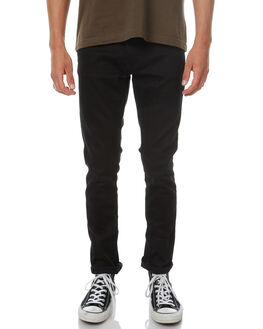 DRY EVER BLACK MENS CLOTHING NUDIE JEANS CO JEANS - 112684EVBLK