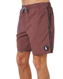 MAROON MENS CLOTHING TOWN AND COUNTRY BOARDSHORTS - TBO412BMAR