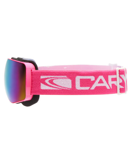 PINK PINK REVO SNOW ACCESSORIES CARVE GOGGLES - 6085PNK