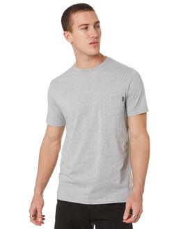 GREY MARLE MENS CLOTHING RIP CURL TEES - CTESY20085