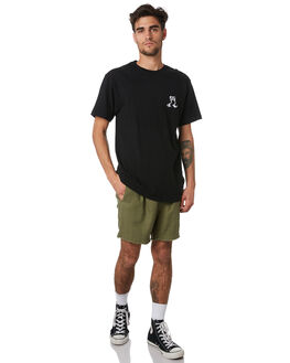 GREEN MENS CLOTHING THE CRITICAL SLIDE SOCIETY SHORTS - WT1827GRN