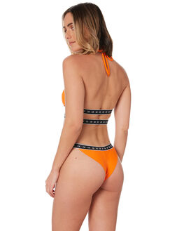ORANGE WOMENS SWIMWEAR CALVIN KLEIN BIKINI BOTTOMS - KW00945-SCAVORG