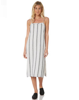 STRIPE WOMENS CLOTHING NUDE LUCY DRESSES - NU23501STR