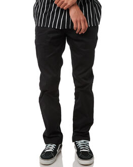 BLACK MENS CLOTHING VOLCOM PANTS - A1111601BLK