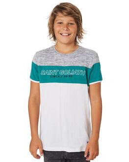 WHITE KIDS BOYS ST GOLIATH TOPS - 2420007WHT