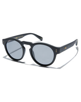 MATTE BLACK SMOKE MENS ACCESSORIES LOCAL SUPPLY SUNGLASSES - FREEWAYBKM1