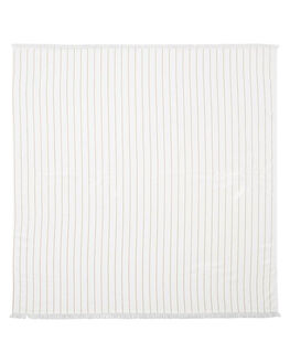SAND STRIPE ACCESSORIES TOWELS THE BEACH PEOPLE  - TB-T40-04-SSNDST