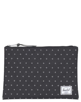 BLACK GRIDLOCK ACCESSORIES GENERAL ACCESSORIES HERSCHEL SUPPLY CO  - 10287-01577-OSBKGR